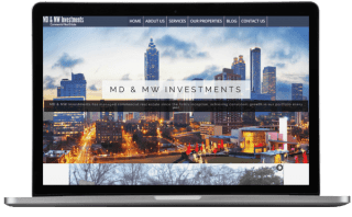 MD & MW Investments Website