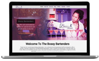 Bossy Bartender Website